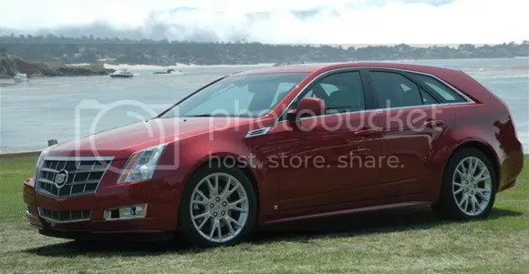 Cadillac CTS-V Wagon:  550hp, 0-60 @ 4.0sec