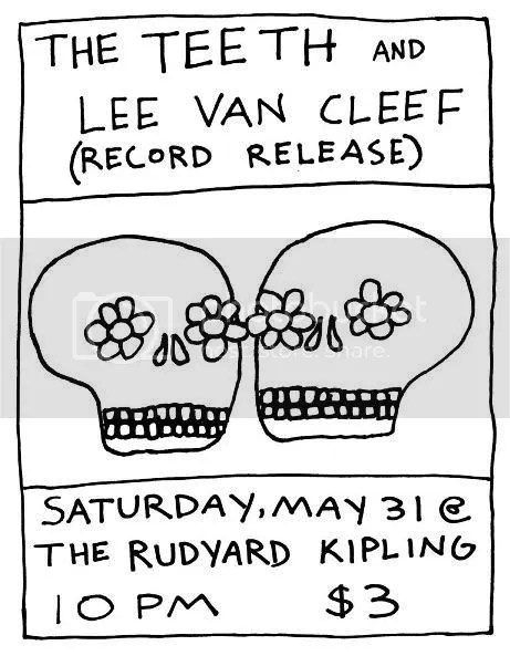 The Teeth Flier May 31