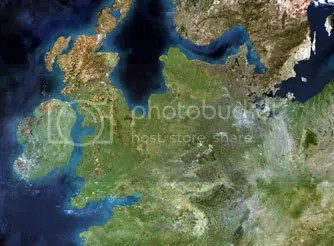 Ancient North Sea lanscape