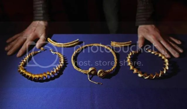 iron age gold torcs