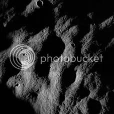 LRO lunar surface