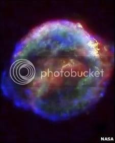 SN 1604 supernova