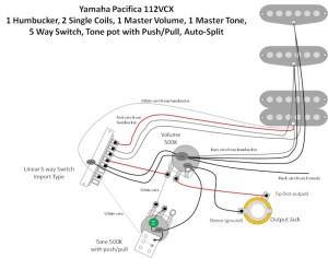Schémas de câblage Baja, Pacifica, Standard Tele