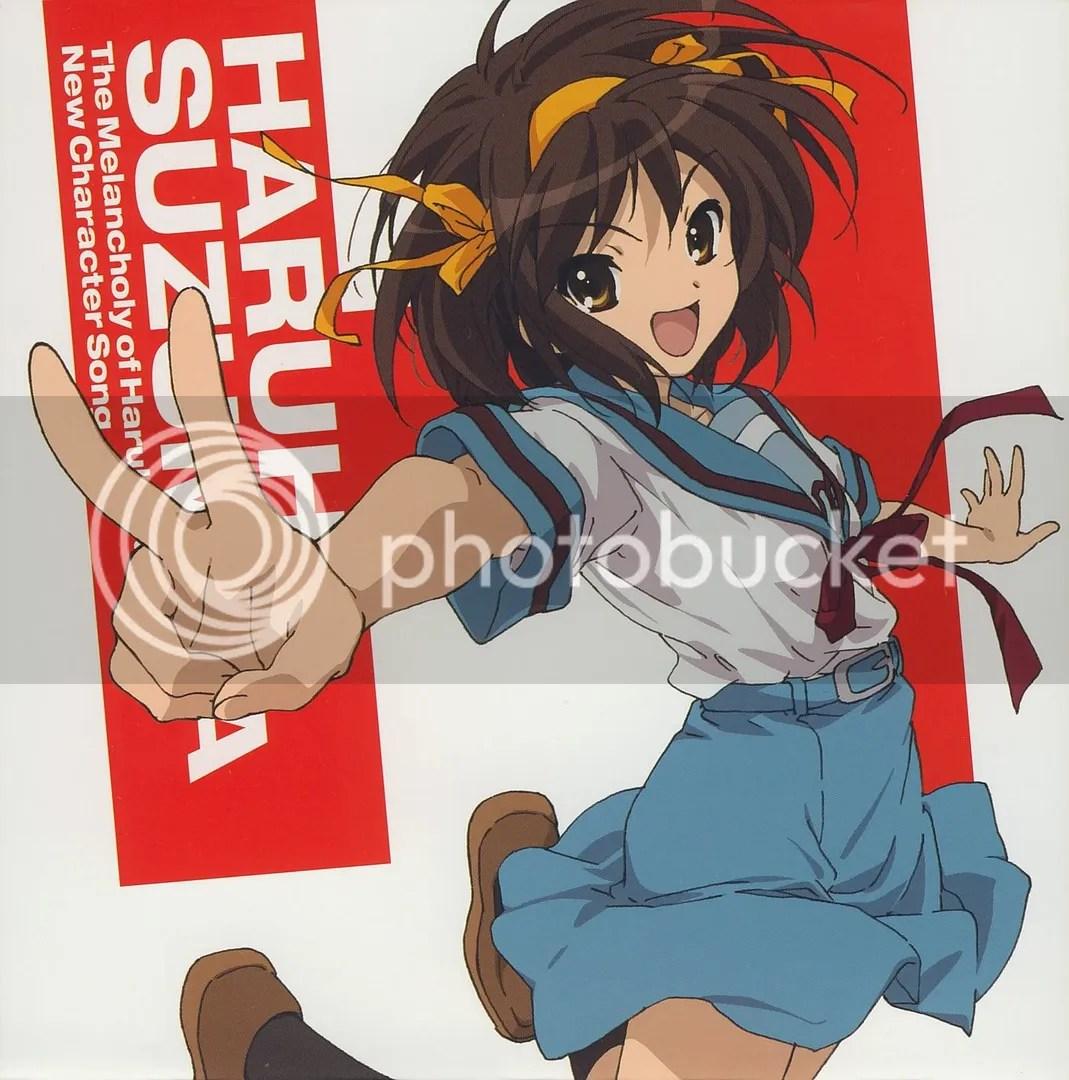 Suzumiya Haruhi (CV: Hirano Aya)
