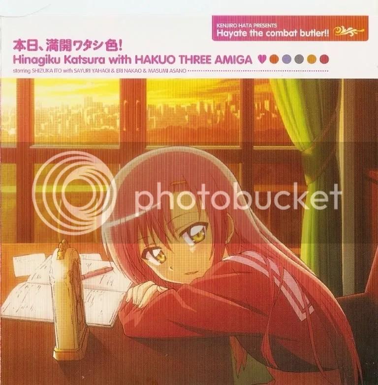 Honjitsu, Mankai Watashi-Iro! Featuring Katsura Hinagiku (seiyuu: Itou Shizuka)