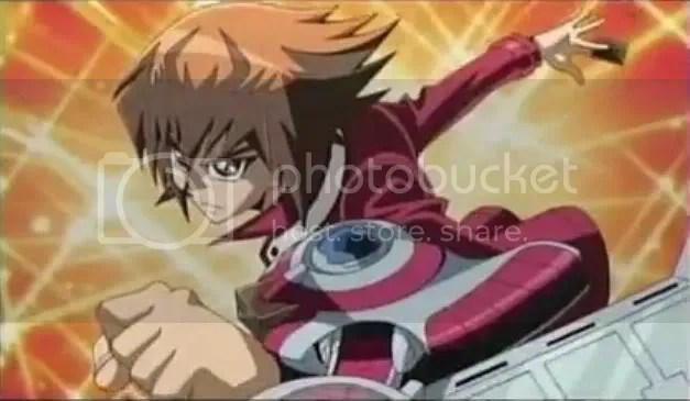Yuki Judai, as seen in episodes 66, 69 of the 5Ds anime.