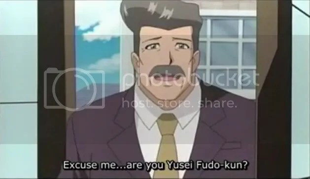 Man in question, secretly the Principal of Duel Academia but sshh... dont tell anyone!