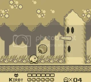 Kirby was originally ghostly white