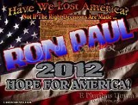 Get Your FREE, Ron Paul 2012 Desktop Wallpaper! (1024 x 768) Made by, Yours Truly ... Click HERE, To Grab It!
