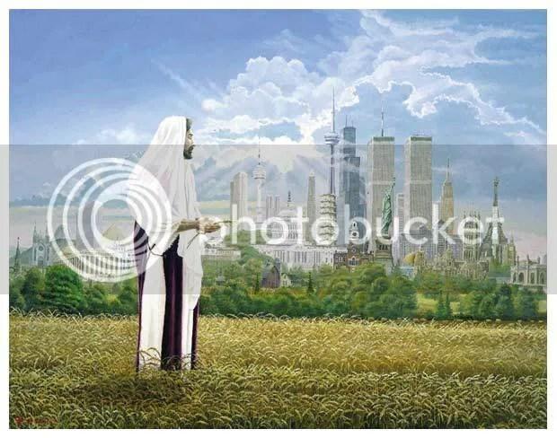 Jesus Harvest Field