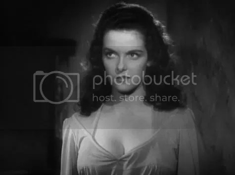 Playing with a stacked deck - Jane Russell in The Outlaw.