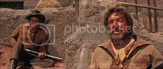 Stuart Whitman & Richard Boone in Rio Conchos.