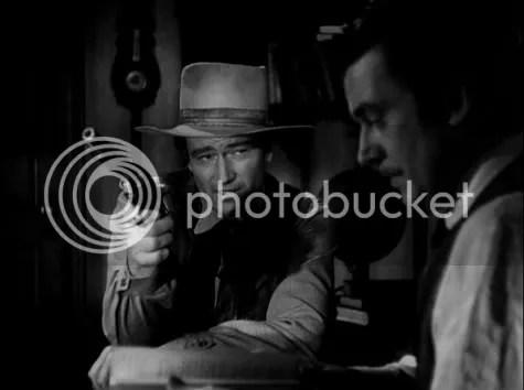 John Wayne and Walter Pidgeon
