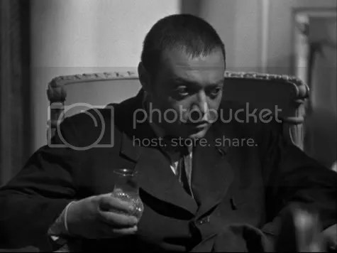 Peter Lorre ponders his fate.