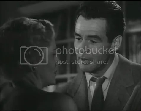 Tough love - Joan Fontaine and Robert Ryan in Born to Be Bad.