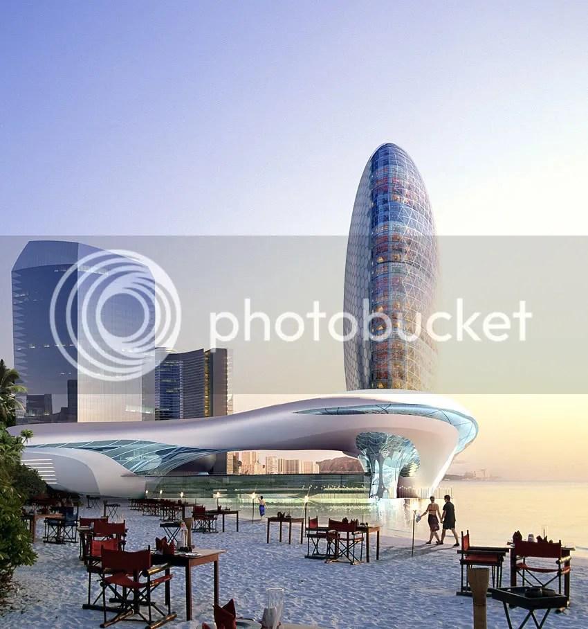 1357FullMoonRising_pic2.jpg Death Star Hotel in Azerbaijan picture by SLEETAPAWANG