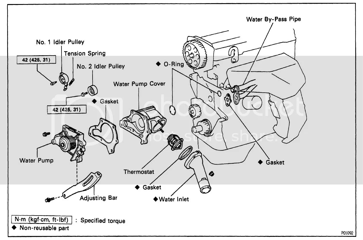 Camry Water Pump Replacement