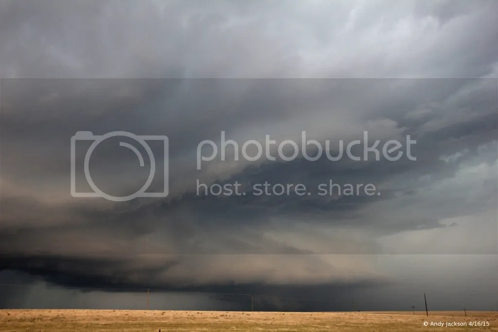 Panhandle supercell