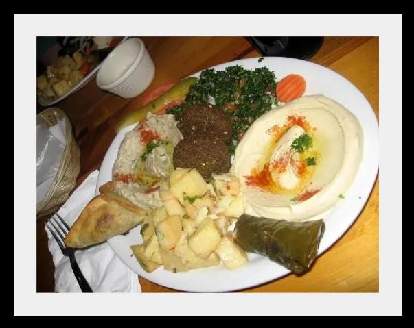 Kabob Grill Vegetarian Combo