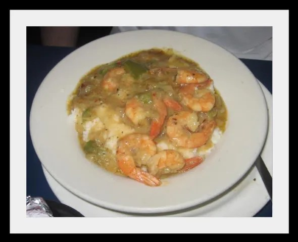 The Coffee Cup's Shrimp and Grits