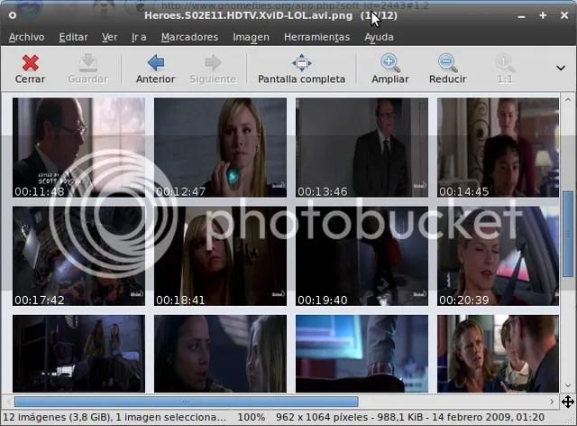gframe2 GFrameCatcher 1.2 - Captura cuadros de tus videos