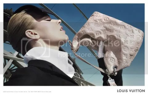Louis Vuitton Fall-Winter 2008 Ad Campaign Eva Herzigova