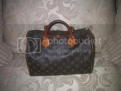Louis Vuitton Monogram Speedy with Full Patina