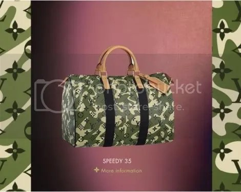 Louis Vuitton Monogramouflage Speedy