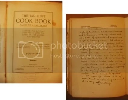 grandma cookbook dandelion wine recipe