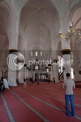 De tot moskee omgebouwde kathedraal