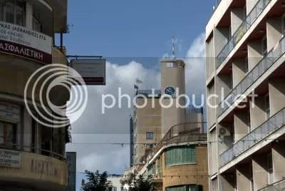 Het Shakolas-gebouw vanaf de elfde verdieping heb je een prachtig uitzicht over de stad