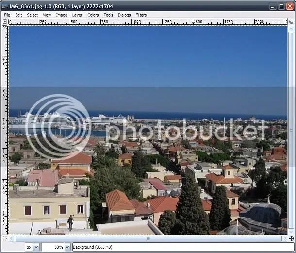 Haven van Rhodos stad