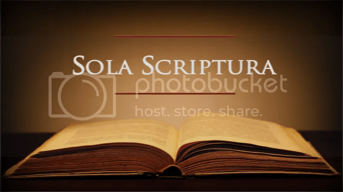 Image result for scripture alone