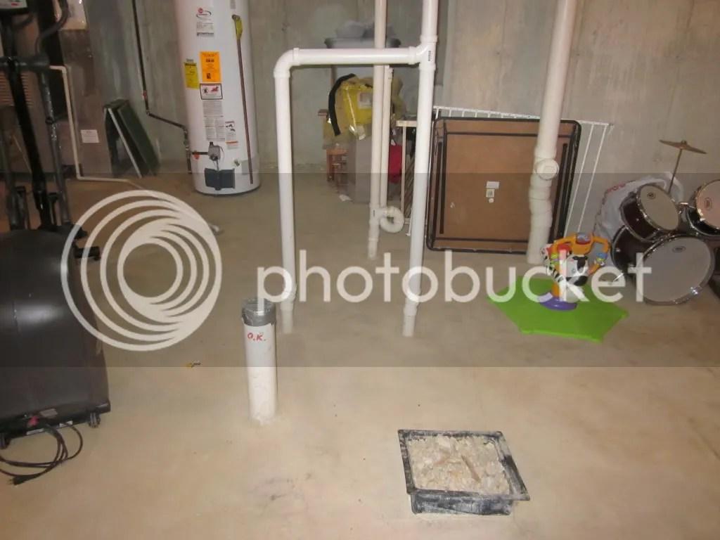 Finishing Basement And Adding Bathroom Help Plumbing