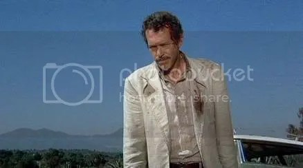 This is the late Warren Oates. His ghost is in Mexico trying to help the Badgers find their mojo. I wonder if hes looked in TJ.