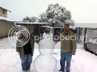 Trish, Me, & Frosty