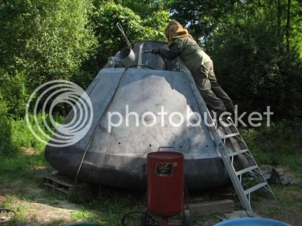 My Gemini capsule restoration G503 Military Vehicle