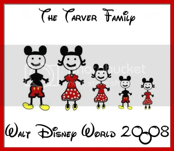 Michelle, could you do a mickey stick figure family for me ...