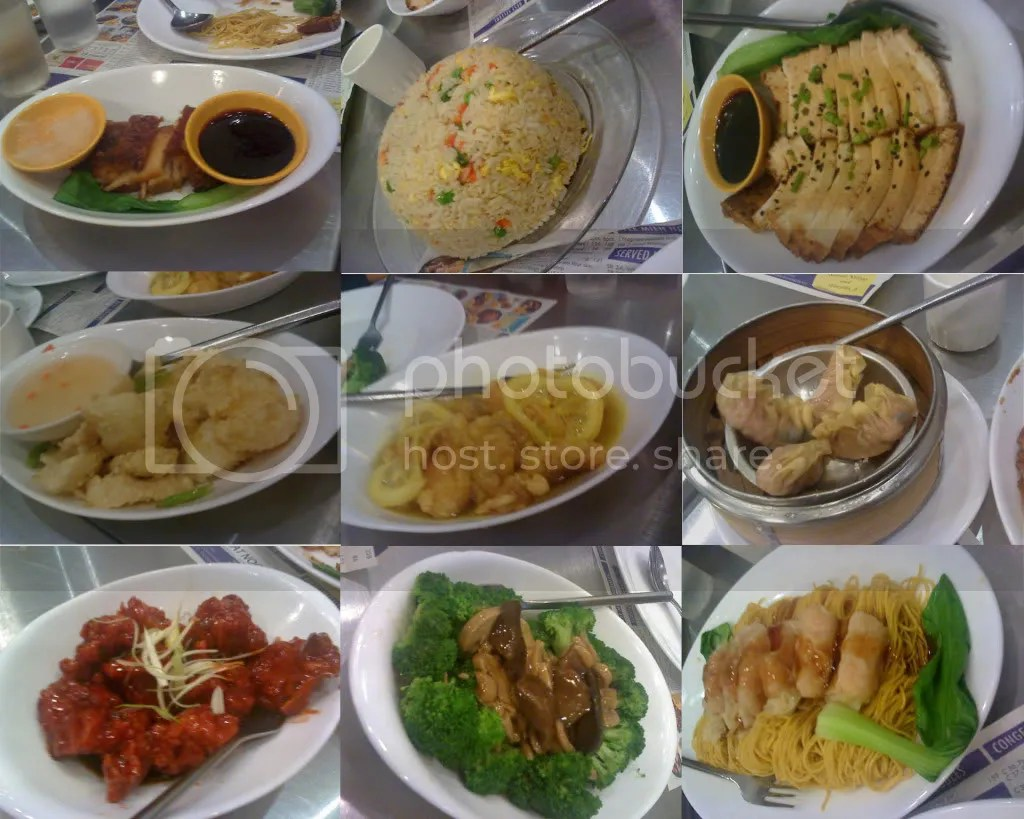 Lechon Macau, Yang Chow Fried Rice,
