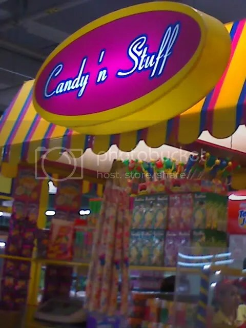 Candies and Stuff stall near the Supermarket