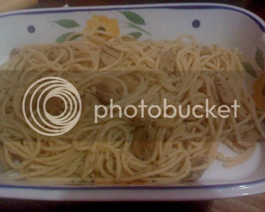 Irishs Herb and Garlic Pasta