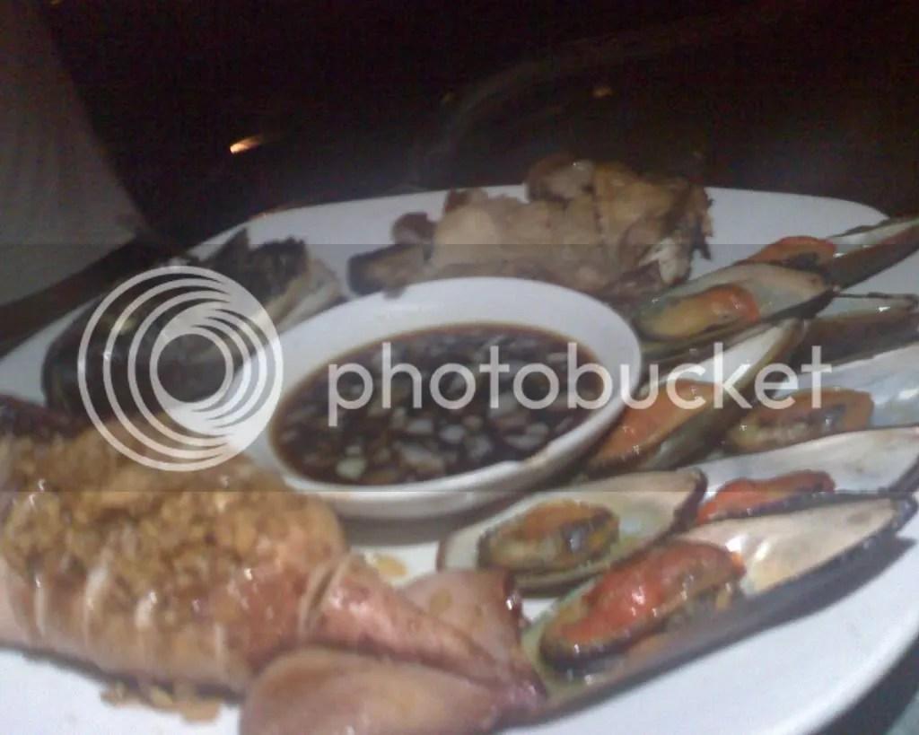 Eurie Safaris Inihaw Platter