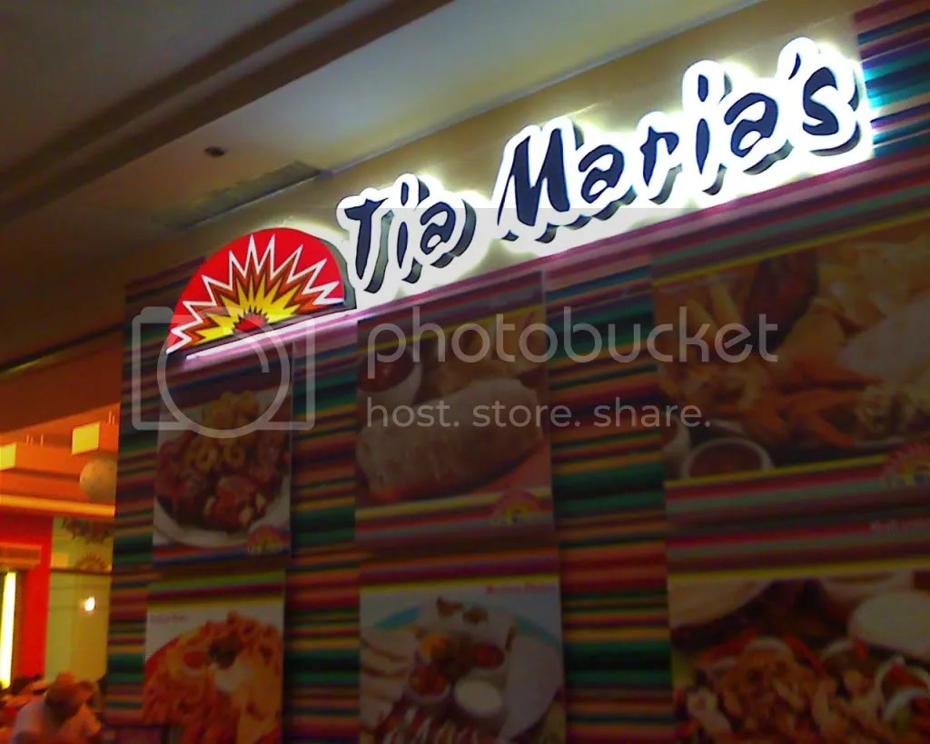 Tia Marias at Festival Supermall