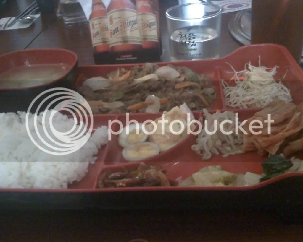 Beef Bulgogi Bento Meal