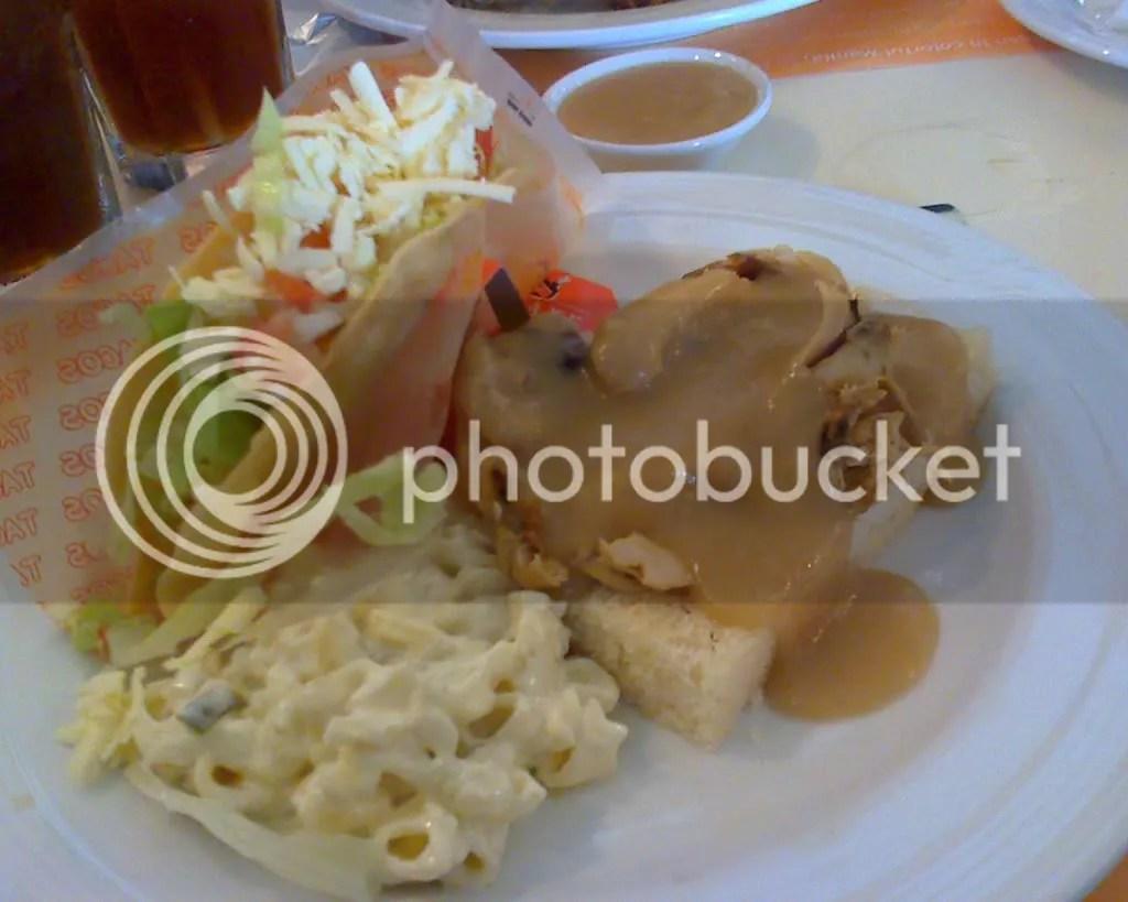 Hot Roast Chicken Special Set