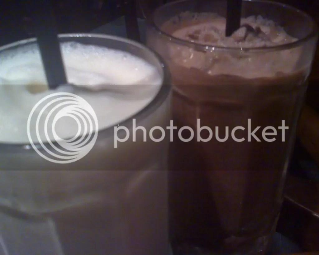 Vanilla and Chocolate Milkshakes