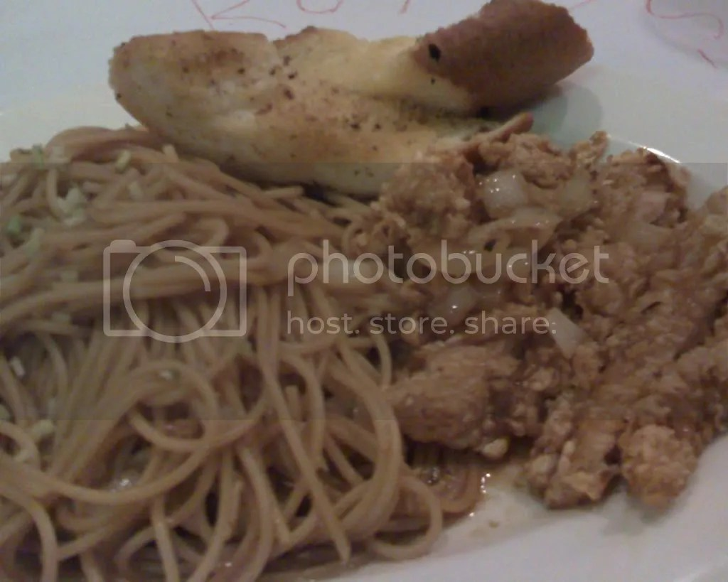 Chicken Teriyaki Pasta