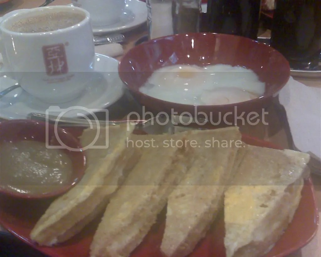 Ya Kun Kaya Toast Set Meal
