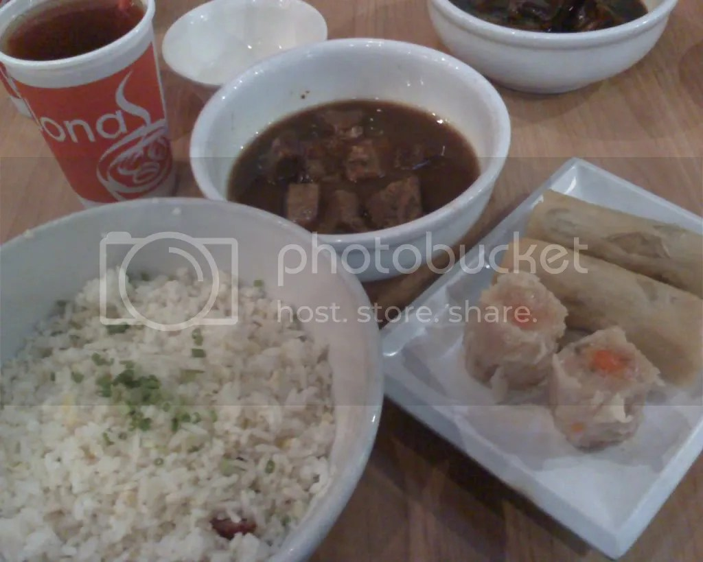 Beef Pares Meal