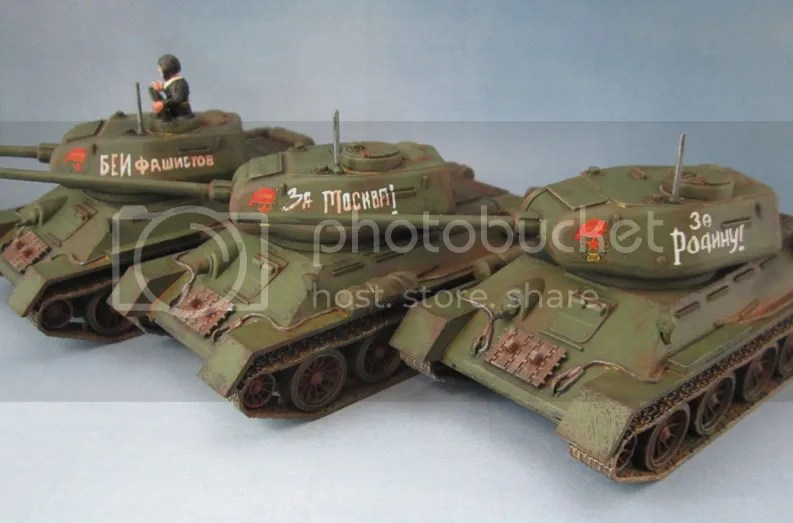 Warlord Games Bolt Action T-34/85 Tank Platoon